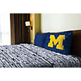 Northwest Michigan Wolverines Anthem Twin Sheet Set