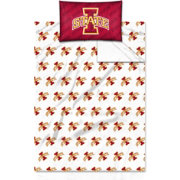 Northwest Iowa State Cyclones Twin Sheet Set