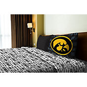 Northwest Iowa Hawkeyes Anthem Twin Sheet Set