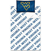 Northwest West Virginia Mountaineers Twin Sheet Set