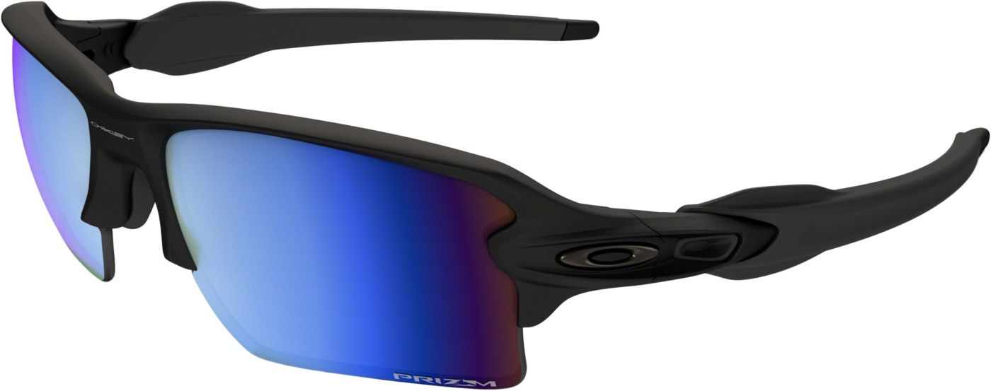 Oakley Men's Flak 2.0 XL Prizm Deep Water Polarized Sunglasses