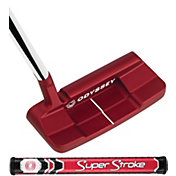 Odyssey O-Works Red #1 Wide S Putter – SuperStroke Mid Slim 2.0 Grip