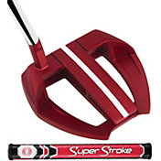 Odyssey O-Works Red Marxman SL Putter – SuperStroke Mid Slim 2.0 Grip