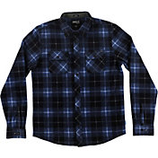 O'Neill Men's Glacier Plaid Long Sleeve Shirt