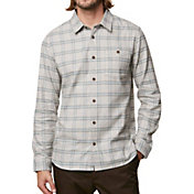 O'Neill Men's Redmond Flannel Long Sleeve Shirt