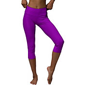 Onzie Women's Electric Purple Capri Leggings