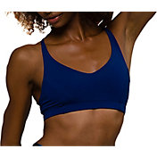 Onzie Women's Navy Pyramid Sports Bra