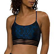 Onzie Women's Navy Python Ritz Sports Bra