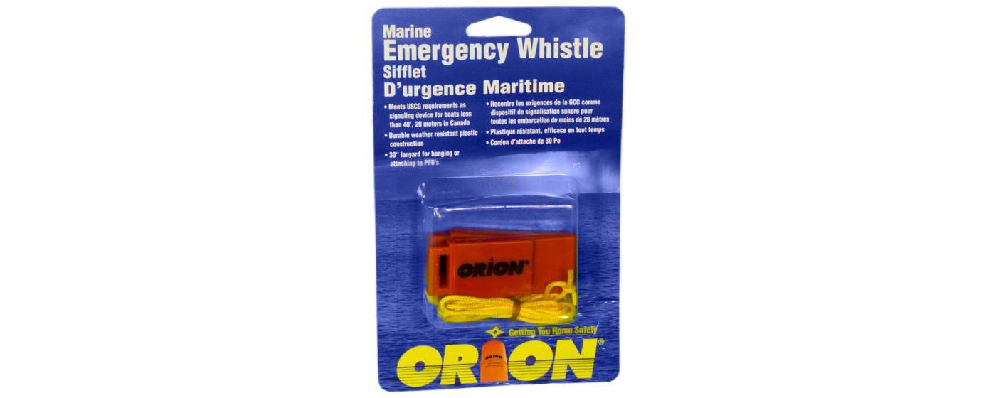 Orion Emergency Whistle - 2 Pack