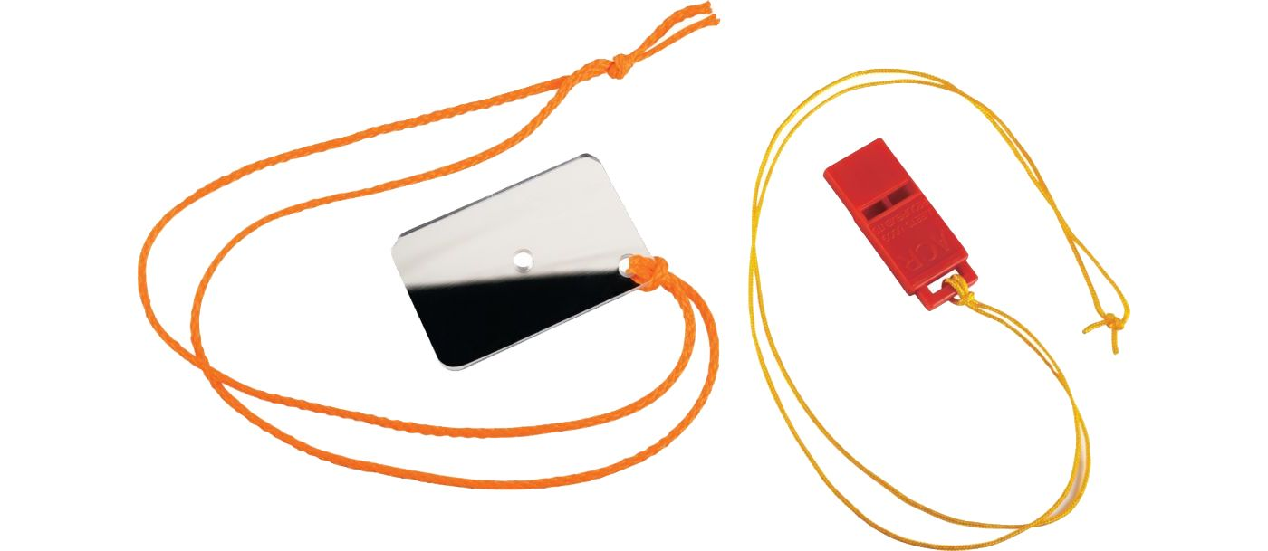 Orion Whistle and Mirror Kit