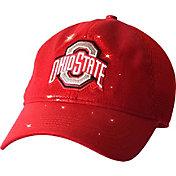 OSU Women's Ohio State Buckeyes Scarlet Team Shine Structured Adjustable Hat