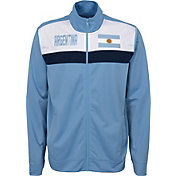 Outerstuff Youth Argentina Blue Track Jacket