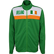Outerstuff Youth Ireland Green Track Jacket
