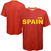Outerstuff Men's Spain Replica Jersey Red T-Shirt