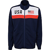 Outerstuff Men's USA Soccer Navy Track Jacket