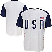 Outerstuff Men's USA Replica Jersey White T-Shirt