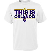 adidas Youth Orlando City Local Dassler White T-Shirt