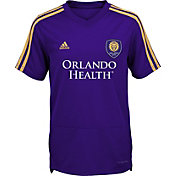 adidas Youth Orlando City Training Purple Shirt