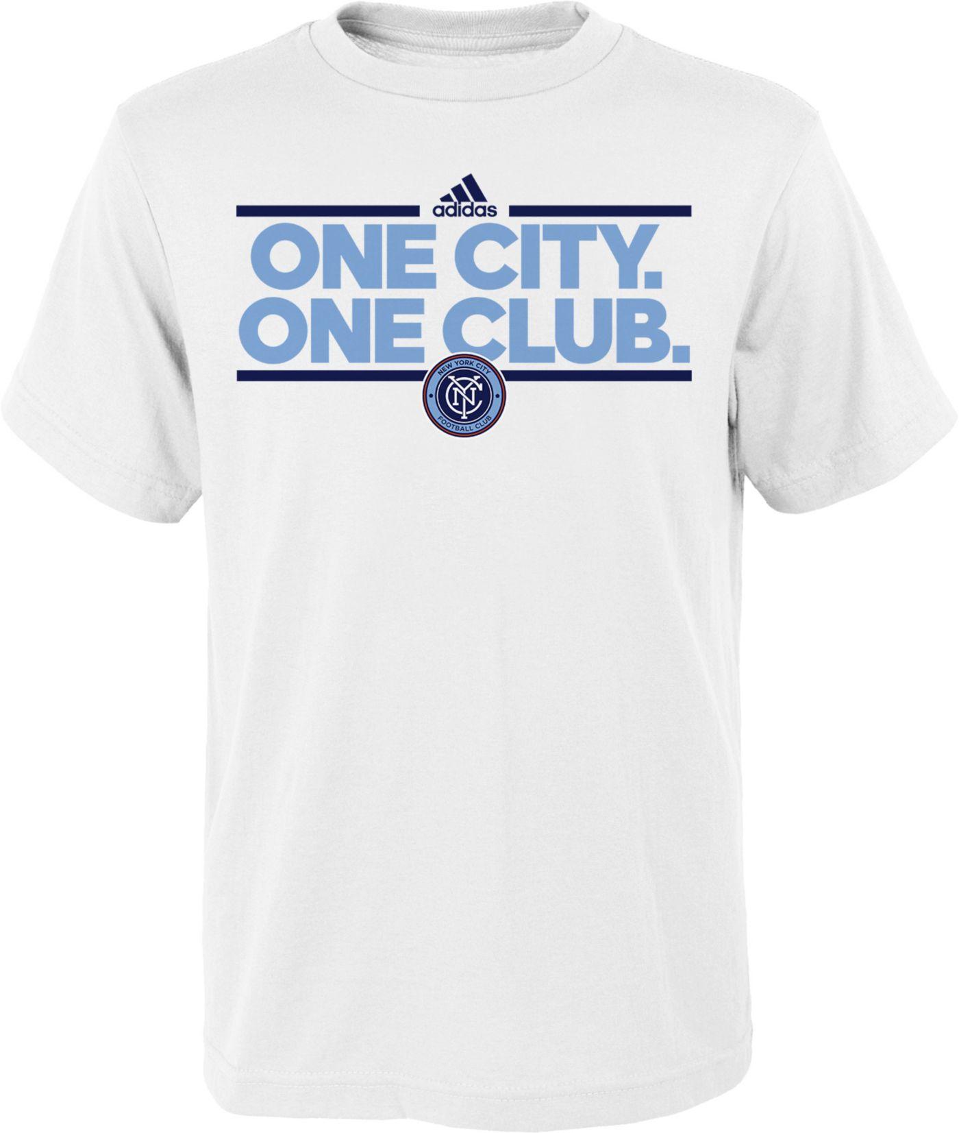 adidas Youth New York City FC Local Dassler Navy T-Shirt