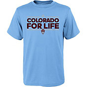 adidas Youth Colorado Rapids Local Dassler Light Blue T-Shirt