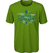 adidas Youth Seattle Sounders Hex Camo Green T-Shirt