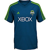 adidas Youth Seattle Sounders Training Grey Shirt