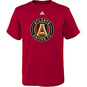 adidas Youth Atlanta United Primary Logo Red T-Shirt