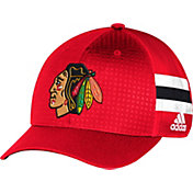 adidas Youth Chicago Blackhawks 2017 NHL Draft Structured Flex Hat