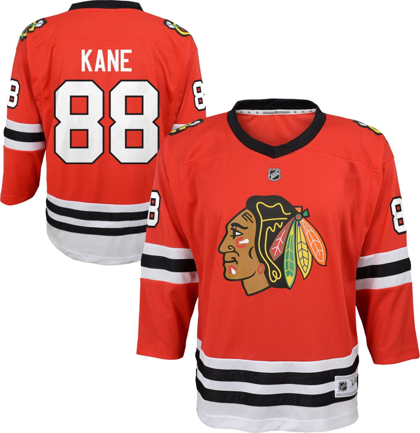 NHL Youth Chicago Blackhawks Patrick Kane #88 Replica Home Jersey
