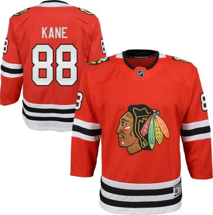 3417e4864 NHL Youth Chicago Blackhawks Patrick Kane #88 Premier Home Jersey