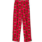 NHL Youth Chicago Blackhawks Team Logo Red Sleep Pants