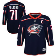 NHL Youth Columbus Blue Jackets Nick Foligno #71 Replica Home Jersey