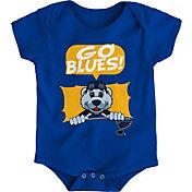 NHL Infant St. Louis Blues Mascot Royal Onesie