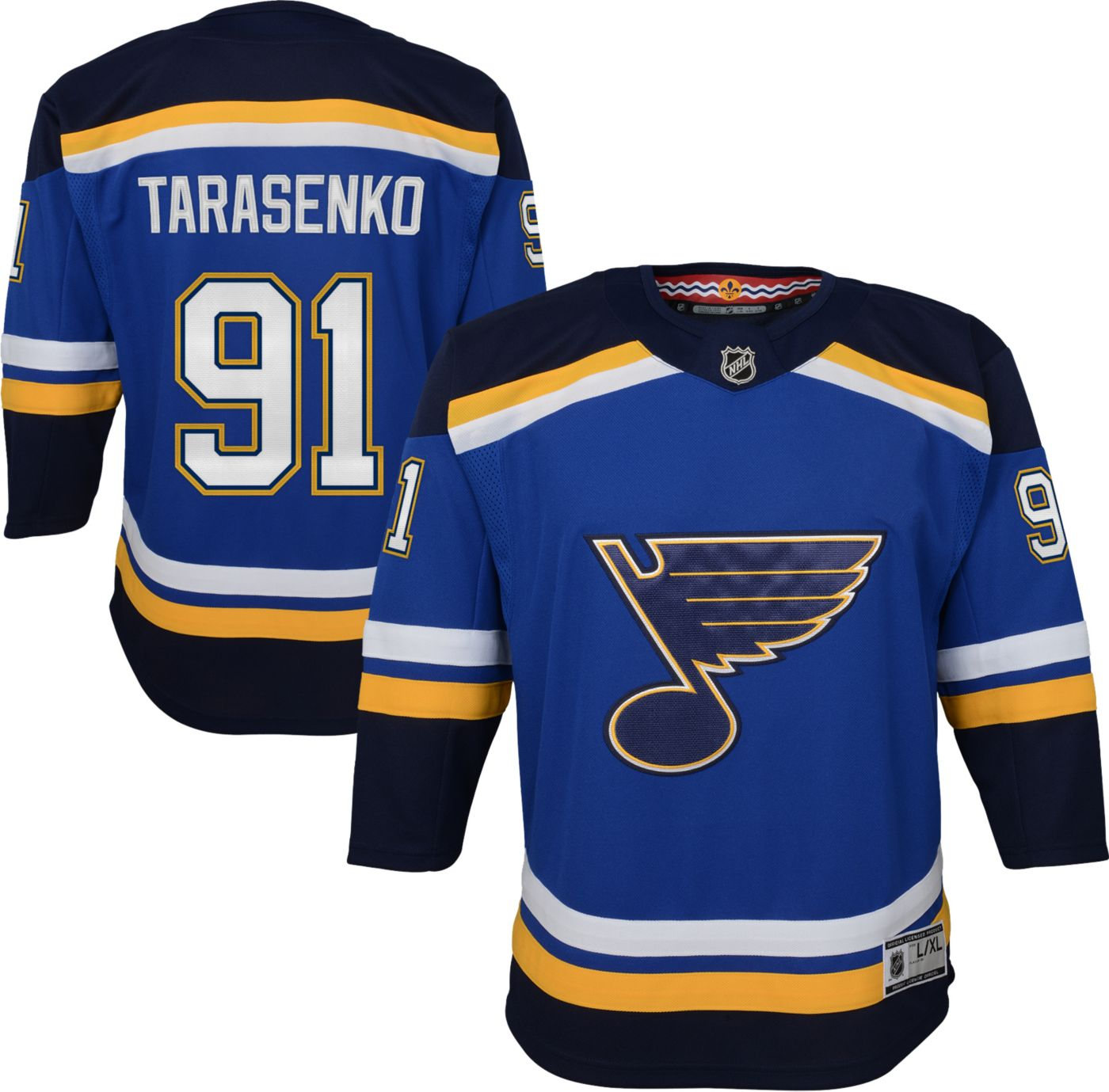 NHL Youth St. Louis Blues Vladimir Tarasenko #91 Premier Home Jersey