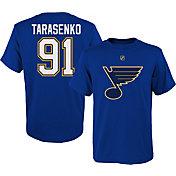 NHL Youth St. Louis Blues Vladimir Tarasenko #91 Royal T-Shirt