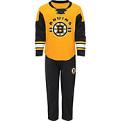 NHL Infant Boston Bruins Gold/Black Rink Rat Shirt and Pants Set
