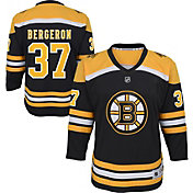 NHL Youth Boston Bruins Patrice Bergeron #37 Replica Home Jersey