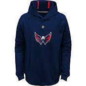 NHL Youth Washington Capitals Mach Red Pullover Hoodie