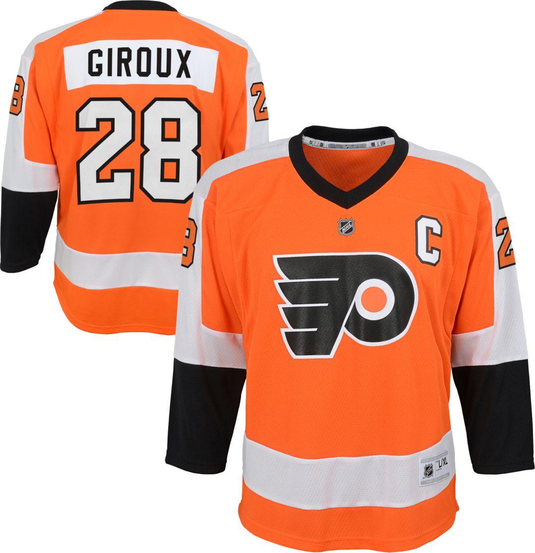 wholesale dealer 51c56 f2f24 NHL Youth Philadelphia Flyers Claude Giroux #28 Replica Home Jersey