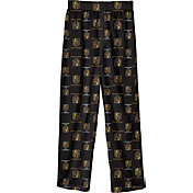 NHL Youth Vegas Golden Knights Team Logo Black Sleep Pants