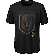 NHL Youth Vegas Golden Knights Logo Matrix Black T-Shirt