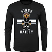 NHL Youth Los Angeles Kings Mascot Black Long Sleeve Shirt