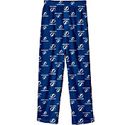 NHL Youth Tampa Bay Lightning Team Logo Royal Sleep Pants