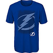 NHL Youth Tampa Bay Lightning Logo Matrix Royal T-Shirt