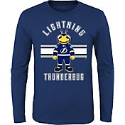 NHL Youth Tampa Bay Lightning Mascot Royal Long Sleeve Shirt