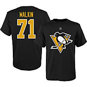 NHL Youth Pittsburgh Penguins Evgeni Malkin #71 Black T-Shirt
