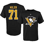 NHL Youth Pittsburgh Penguins Evgeni Malkin #71 Black T-Shirt