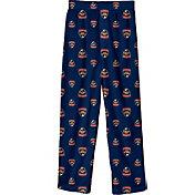NHL Youth Florida Panthers Team Logo Navy Sleep Pants