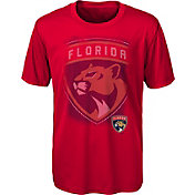 NHL Youth Florida Panthers Logo Matrix Red T-Shirt