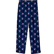NHL Youth New York Rangers Team Logo Royal Sleep Pants